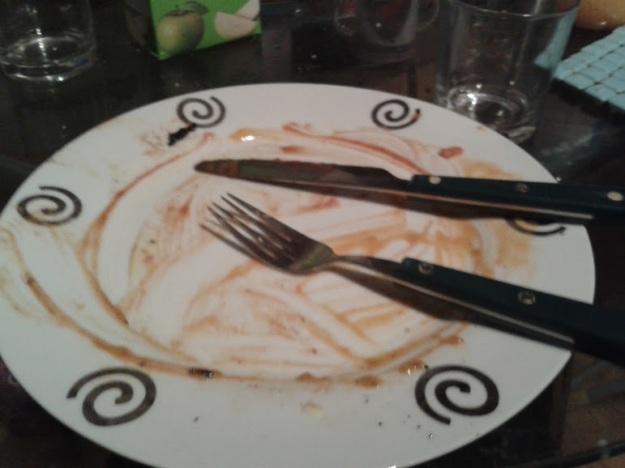 Breakfast Finished